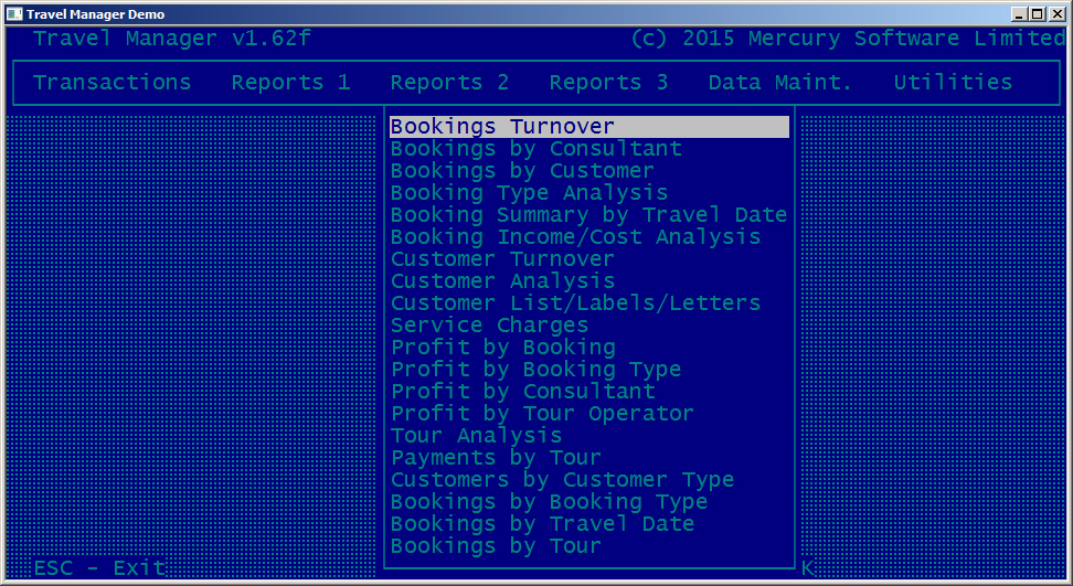 Alarm Manager Software Customer Screenshot