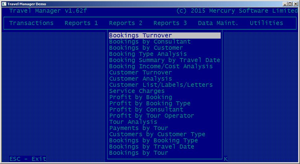 Alarm Manager Software Customer Screenshot